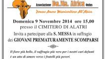 S. Messa 9 Novembre 2014