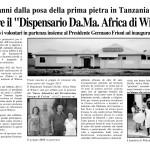 Viaggio Tanzania 2015