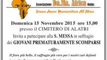 S. Messa 15 novembre 2015